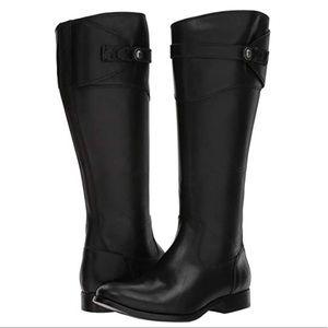 frye / molly tall black boots western nnwot